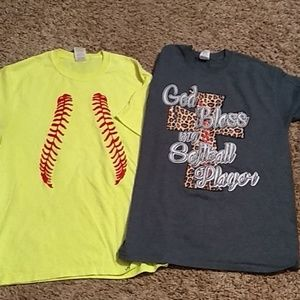 Tops - Sold  Softball mom shirts